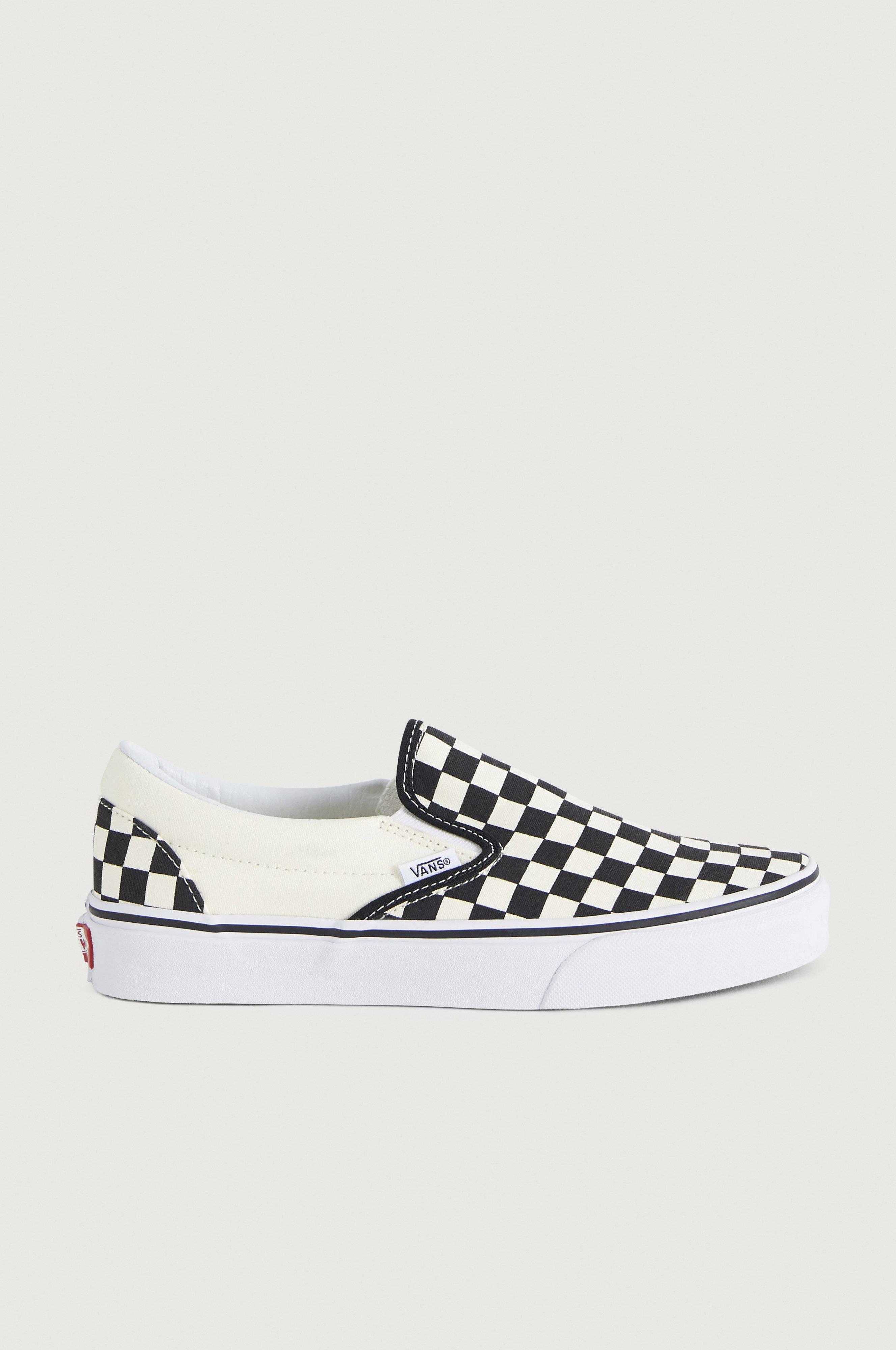 VANS Classic Slip-On Sneakers & textilskor Svart/Vit