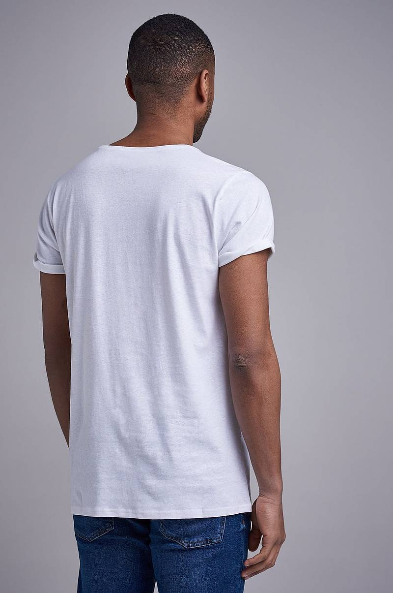 Jimmy Solid Cotton linen T paita
