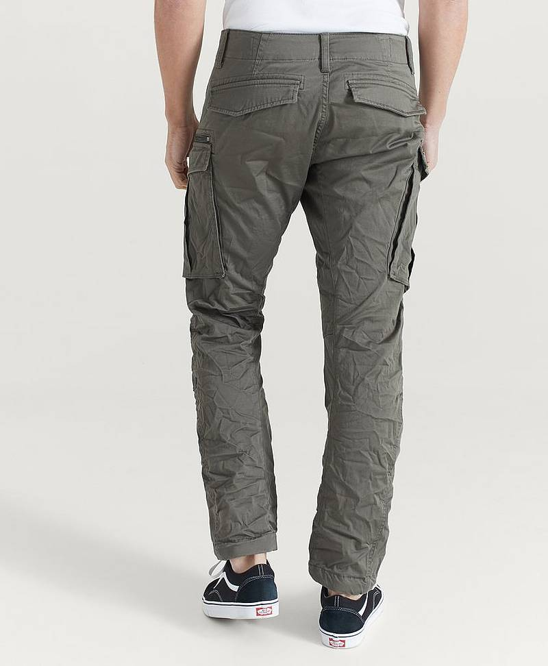 Cargobukse Rovic Zip 3D Straight Tapered