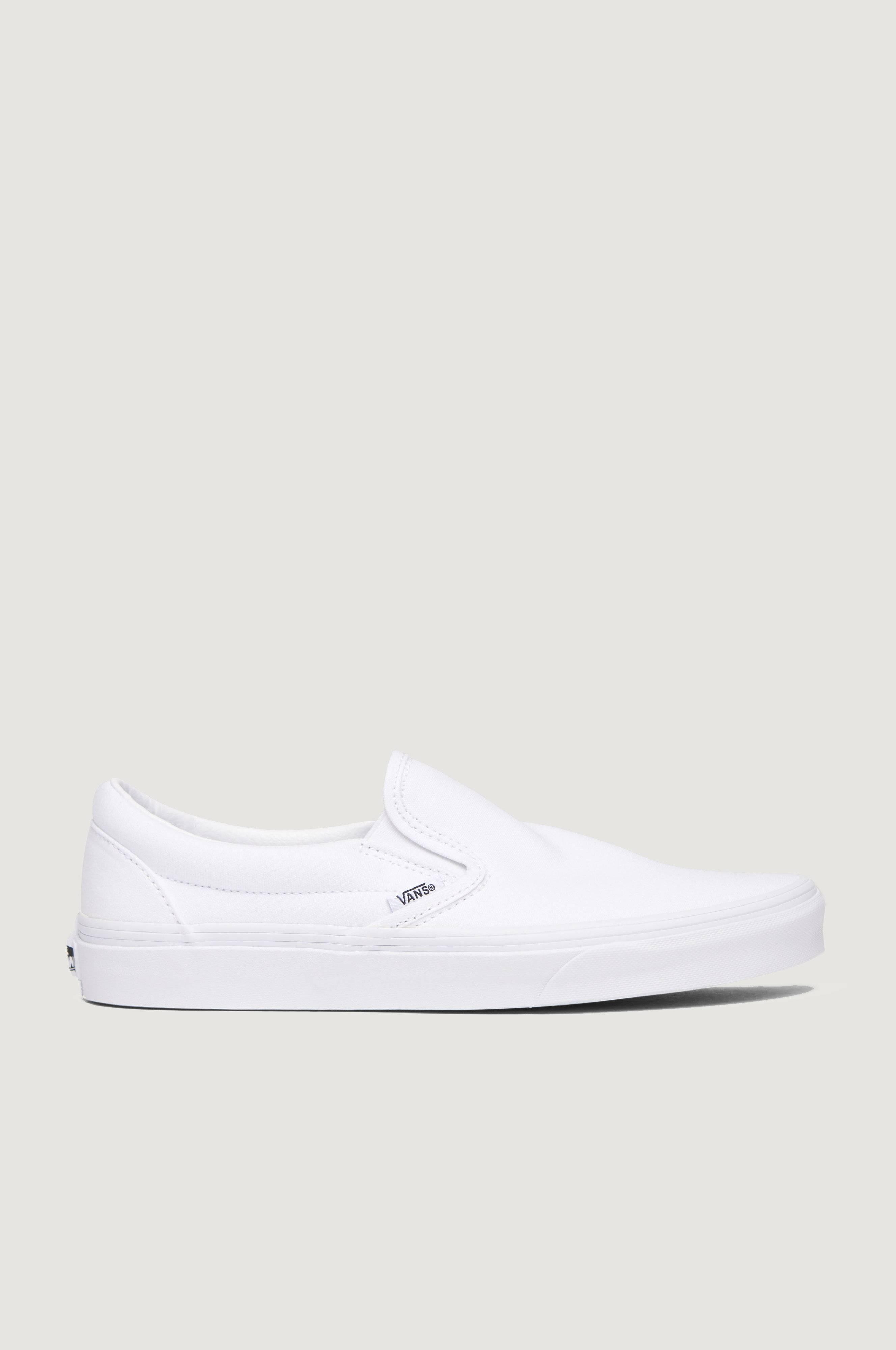 VANS Classic Slip-On Sneakers & textilskor Vit