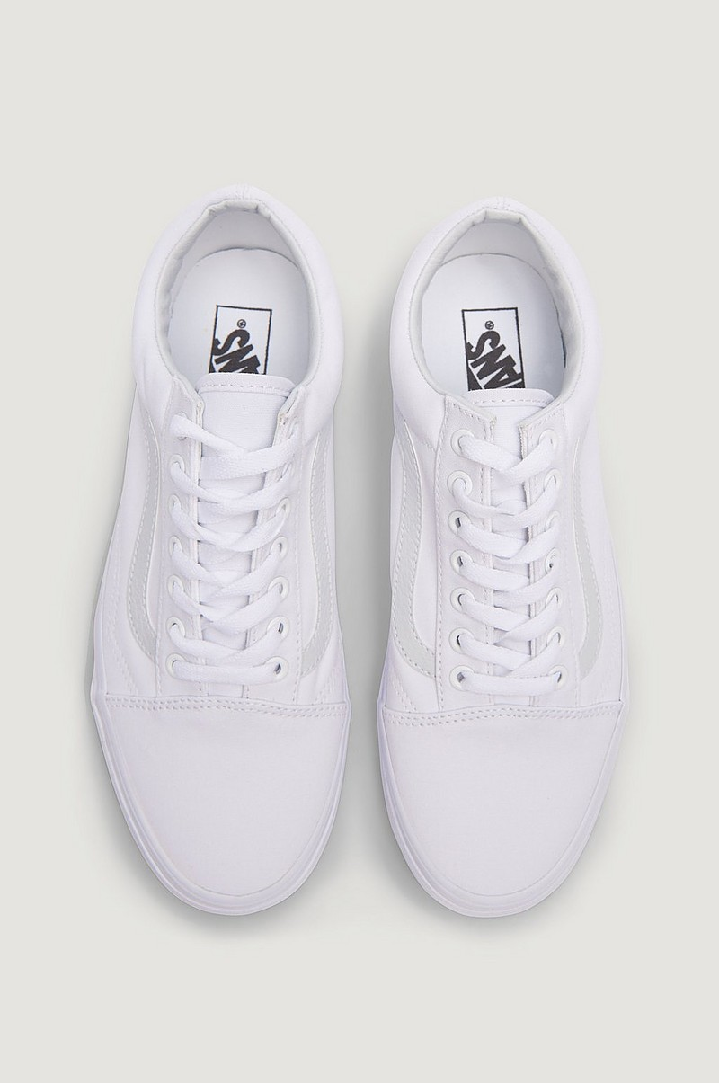 Sneakers UA Old Skool True White