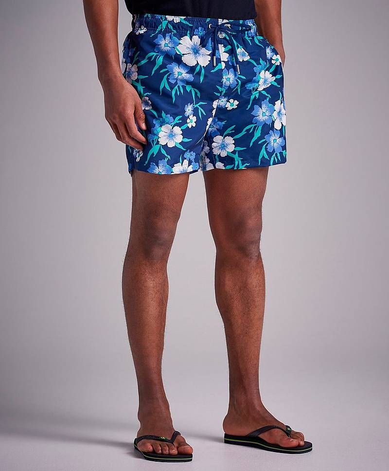 Badeshorts Floral Swim Shorts Classic Fit