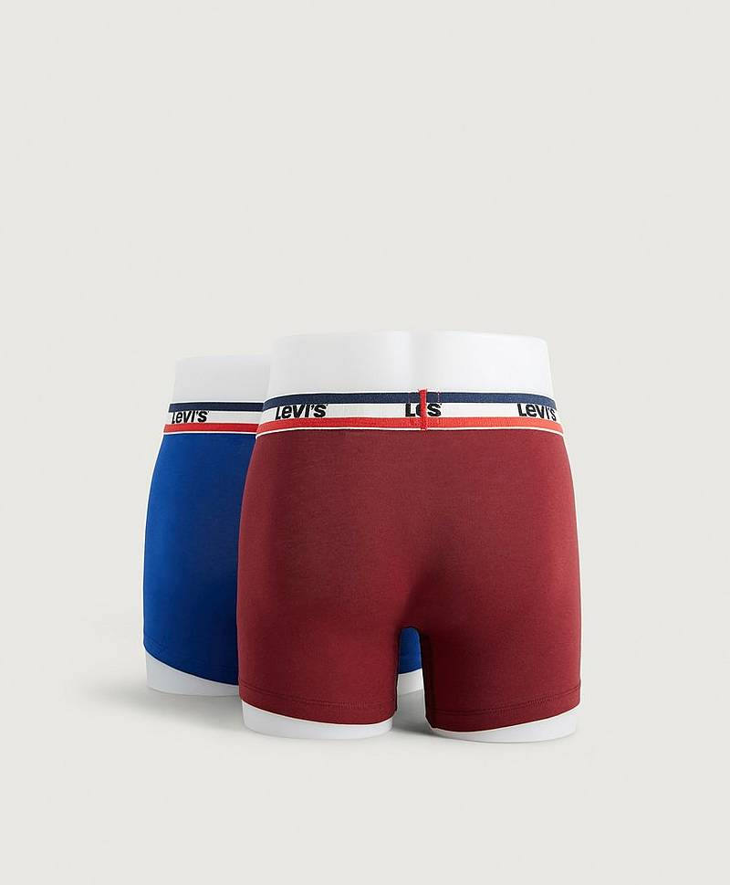 Boxershorts 200SF Sprtswr Logo Color Boxer Brief, 2-pack