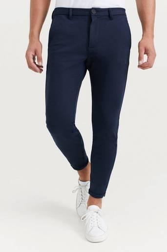 GABBA Byxor Pisa Jersey Pant Blå