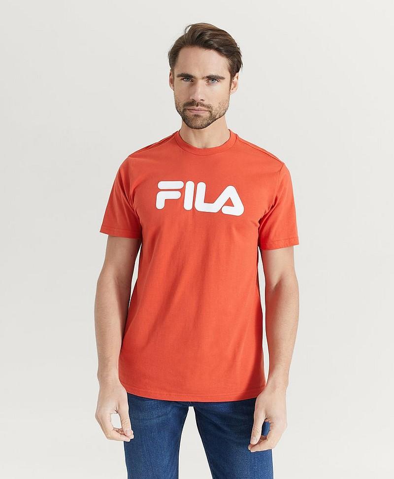 FILA T shirt Classic Pure Tee Orange Tøj Stayhard.dk