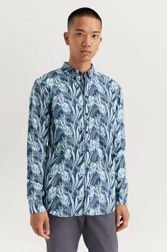 GABBA Skjorta Brooks Shirt Blå