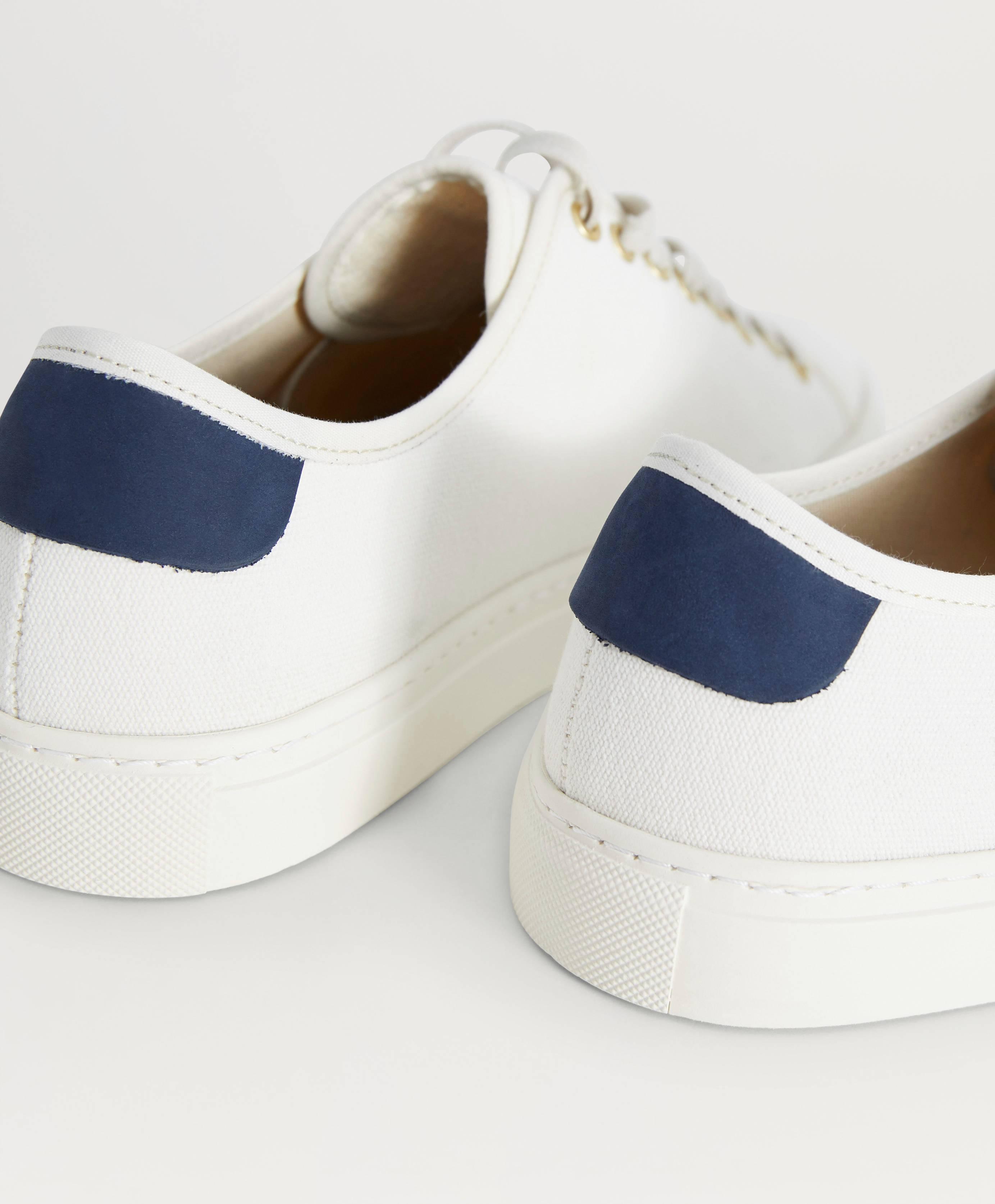 Filippa K Sneakers Morgan Canvas Sneaker Vit Skor