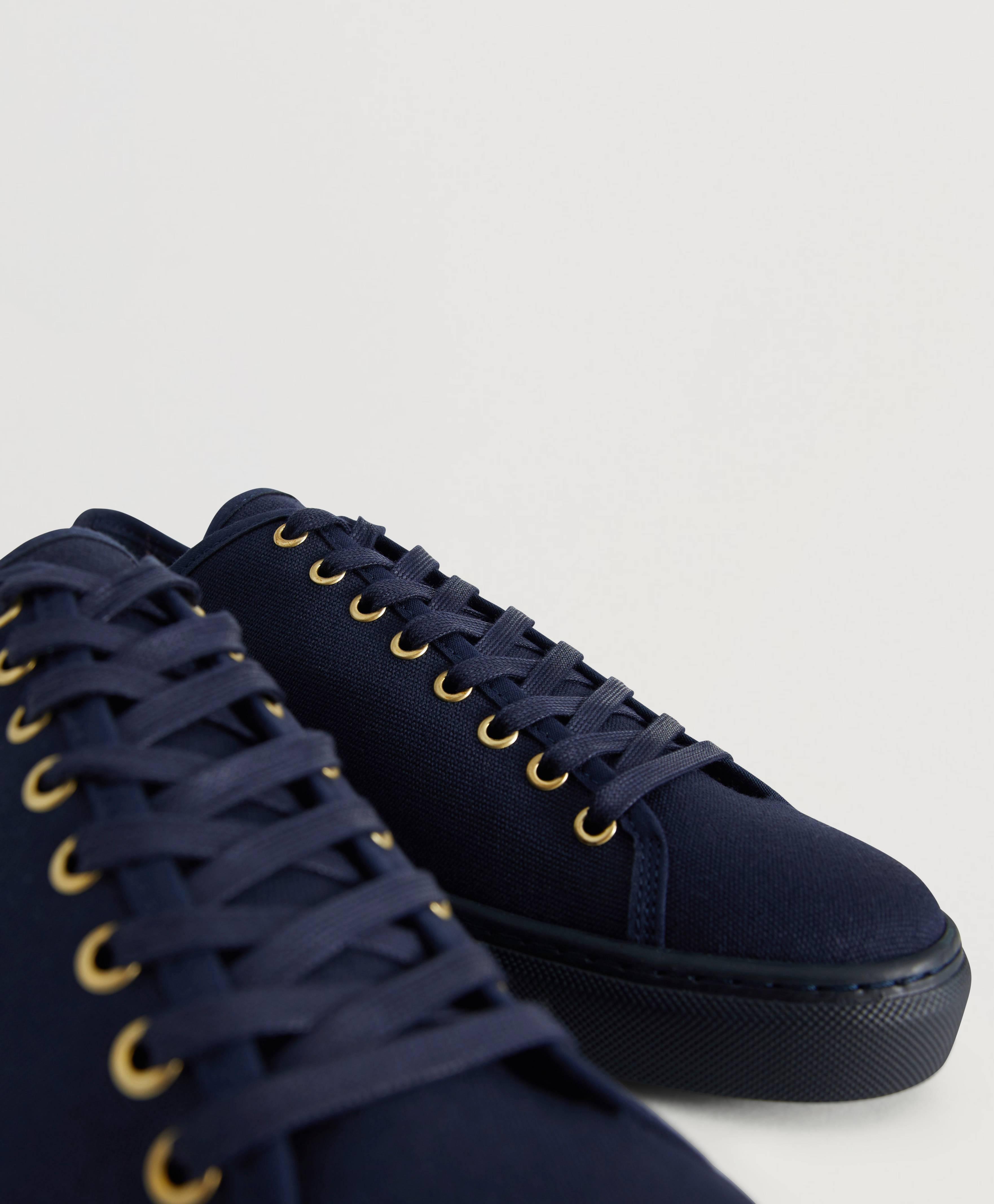 Filippa K Sneakers Morgan Canvas Sneaker Blå Skor