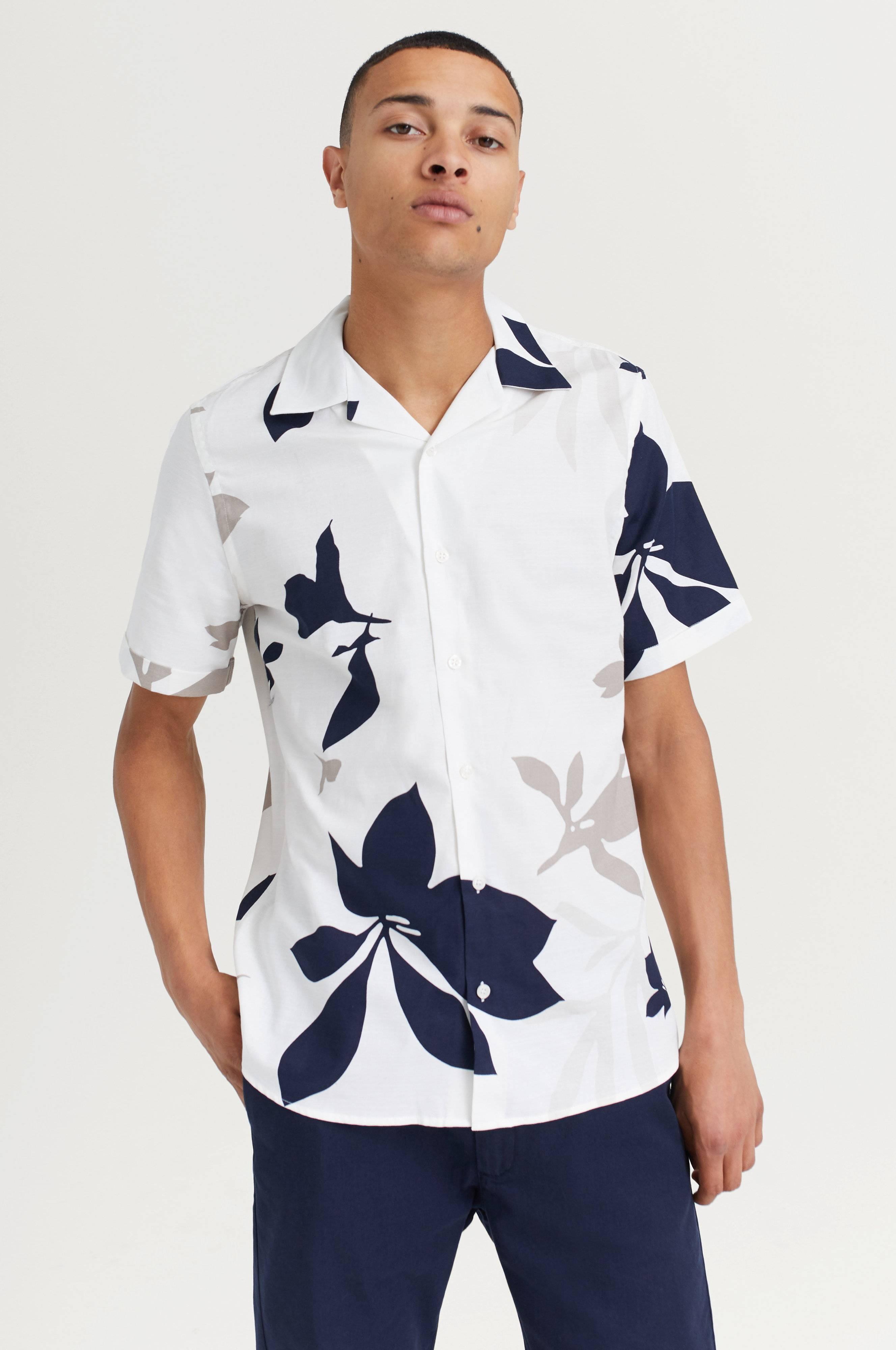 Filippa K M. Don Sandhamn Print Shirt Skjortor Offwhite