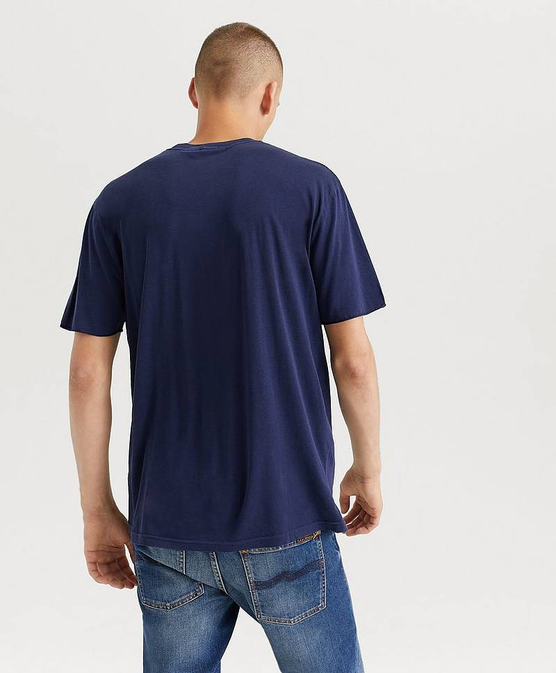 T-shirt Tencel Tee Cut-off Sleeves