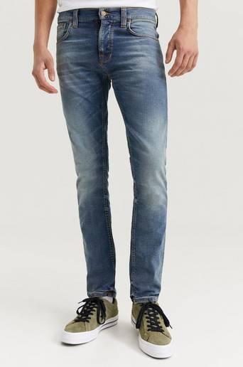 Nudie Jeans Jeans Grim Tim Blå