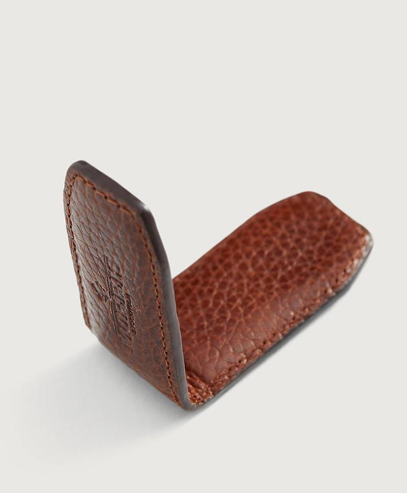 Sedelklämma Harrison Leather Moneyclip