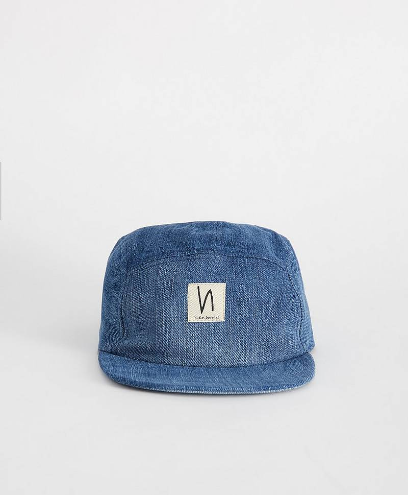 Keps Larsson Recycled Cap Denim