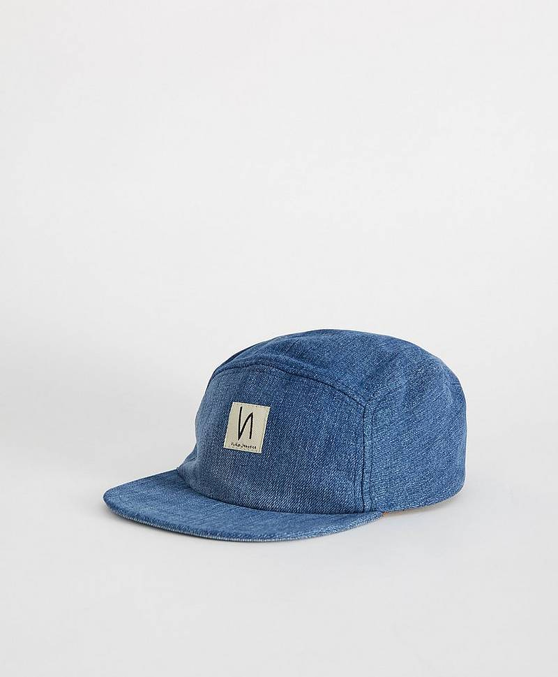 Kasket Larsson Recycled Cap Denim
