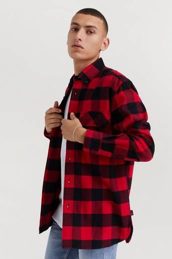 Woolrich Alaskan Buffalo Shirt Röd