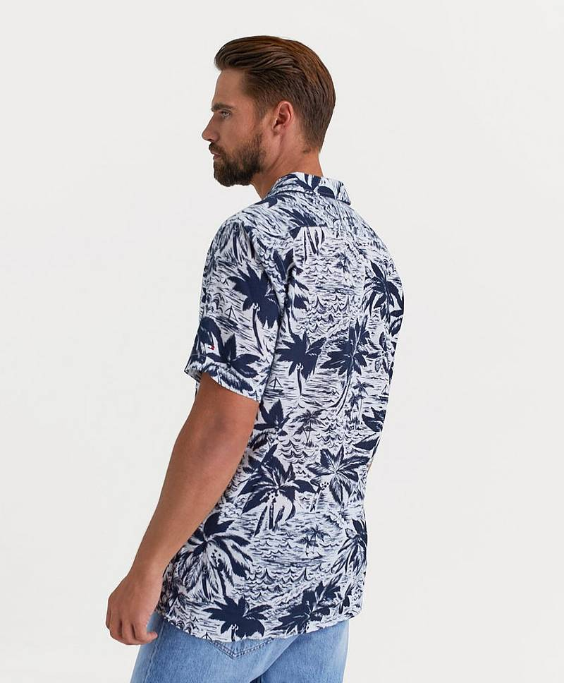 Hawaiian Print Shirt S/S