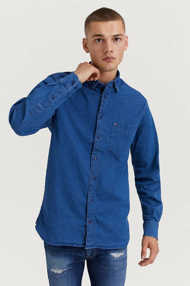 Organic Stretch Denim Shirt