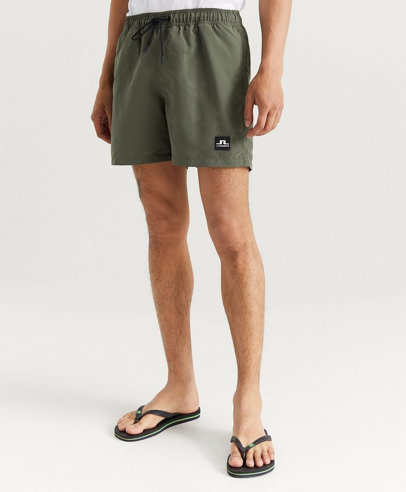 Badeshorts Bank Solid Swim