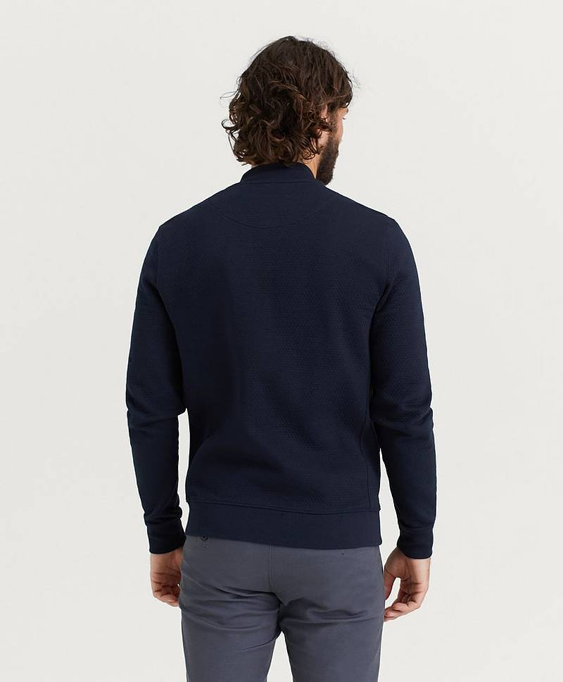 Redford Zip Sweatshirt