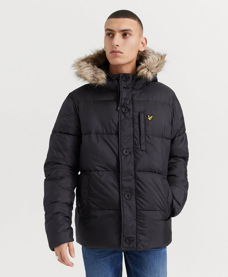 Jakke Wadded Hooded Bomber