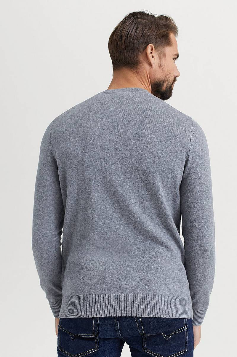 Trøje Crew Neck Cotton Merino Jumper
