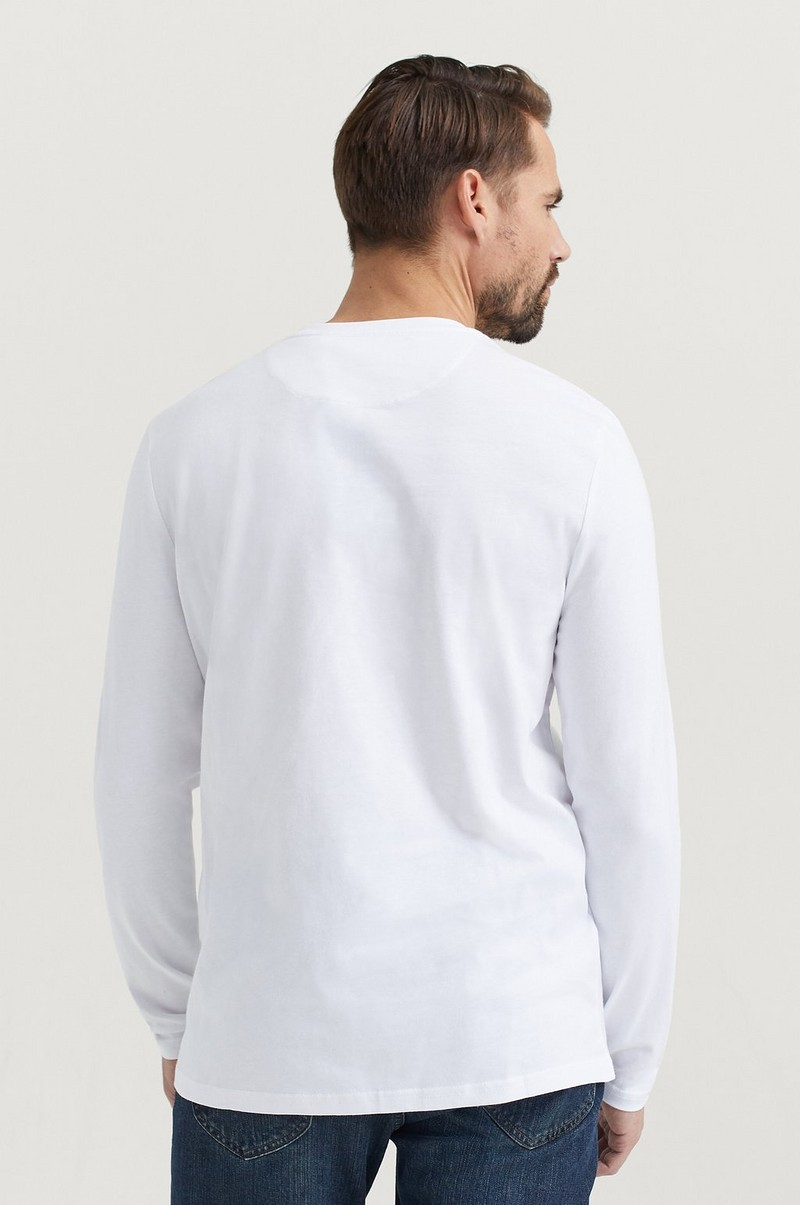 T-SHIRT LS Crew Neck T-shirt
