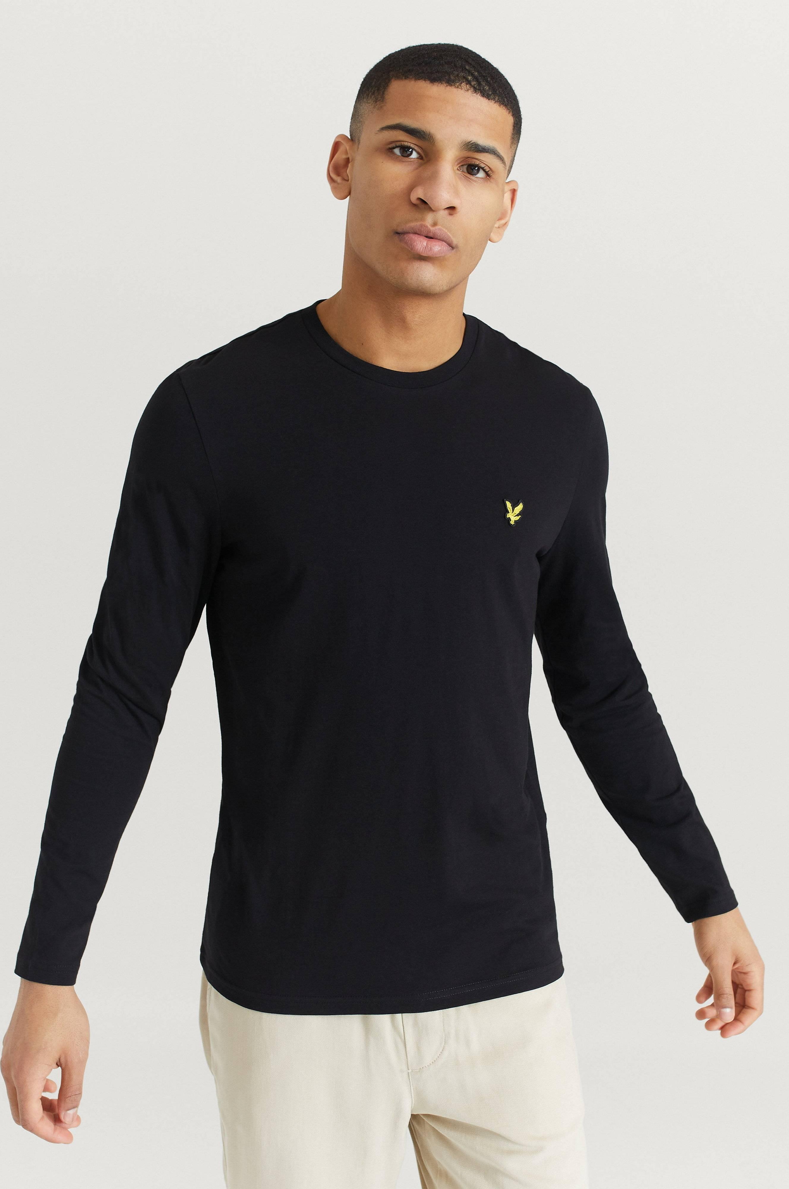 Lyle & Scott LS Crew Neck T-shirt Tröjor Svart
