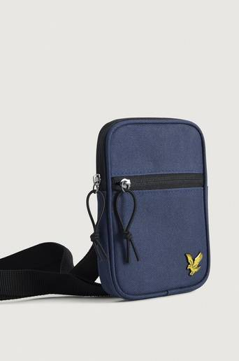 Lyle & Scott VÄSKA Mini messenger Blå