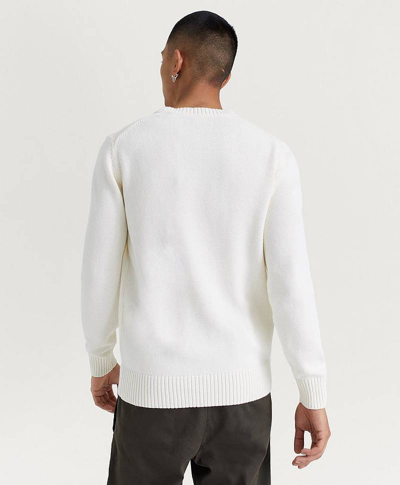 Strikket genser Casual Cotton Crew