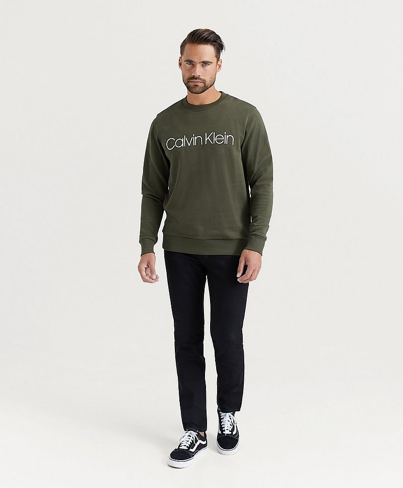 Sweatshirt Cotton Logo Sweatshirt