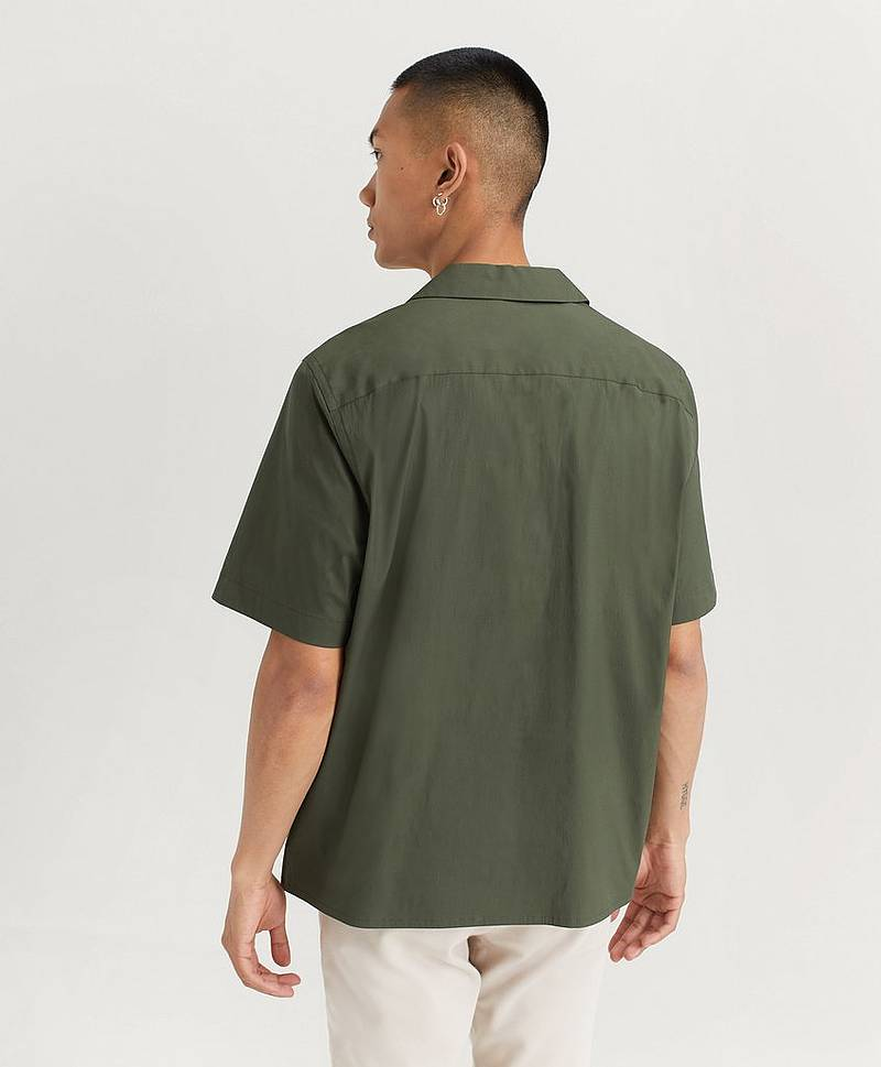 Cuban Collar S/S Shirt