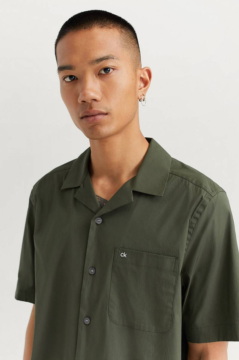 Skjorta Cuban Collar S/S Shirt