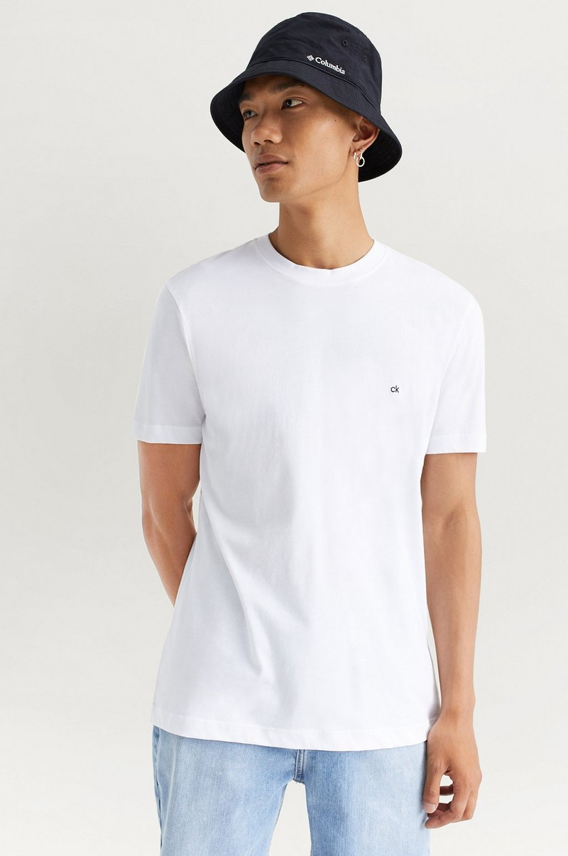 T-shirt Cotton Logo Embroided T-shirt