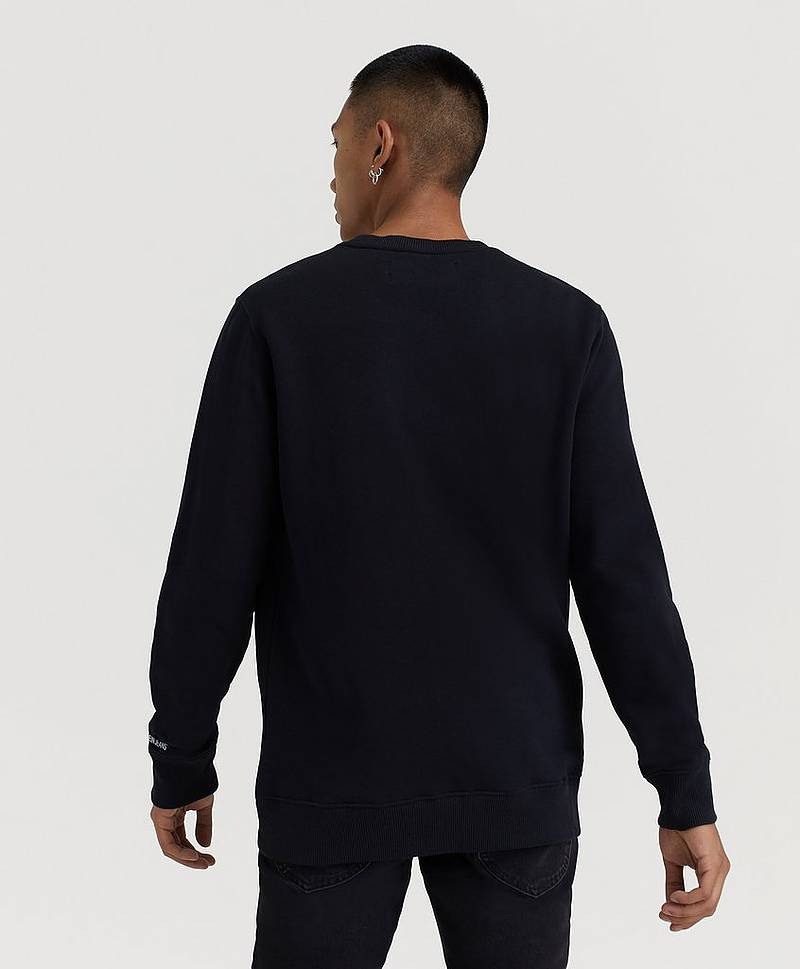 Sweatshirt CK Chest Badge Crew Neck