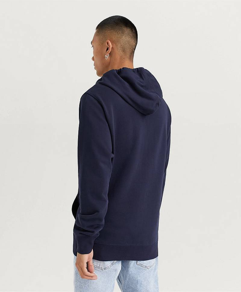 Hoodie Chest Chambray Monogram Zip Up