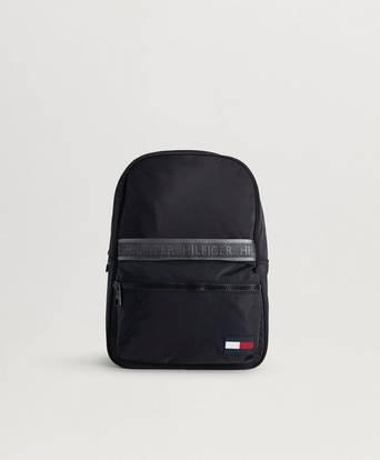 Tommy Hilfiger Sport Mix Backpack Solid Svart