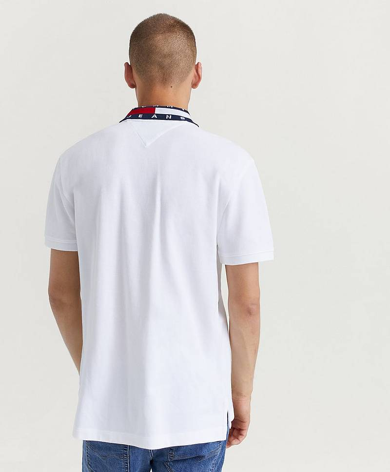 Pikétrøye TJM FLAG NECK POLO