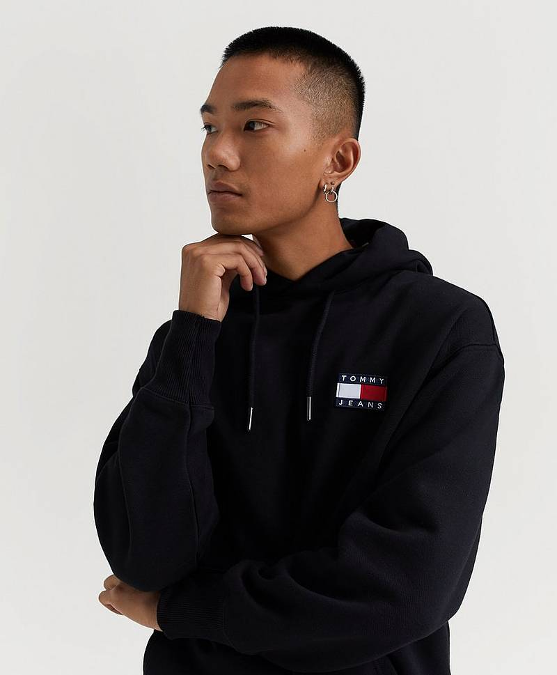 TJM Tommy Badge Hoody
