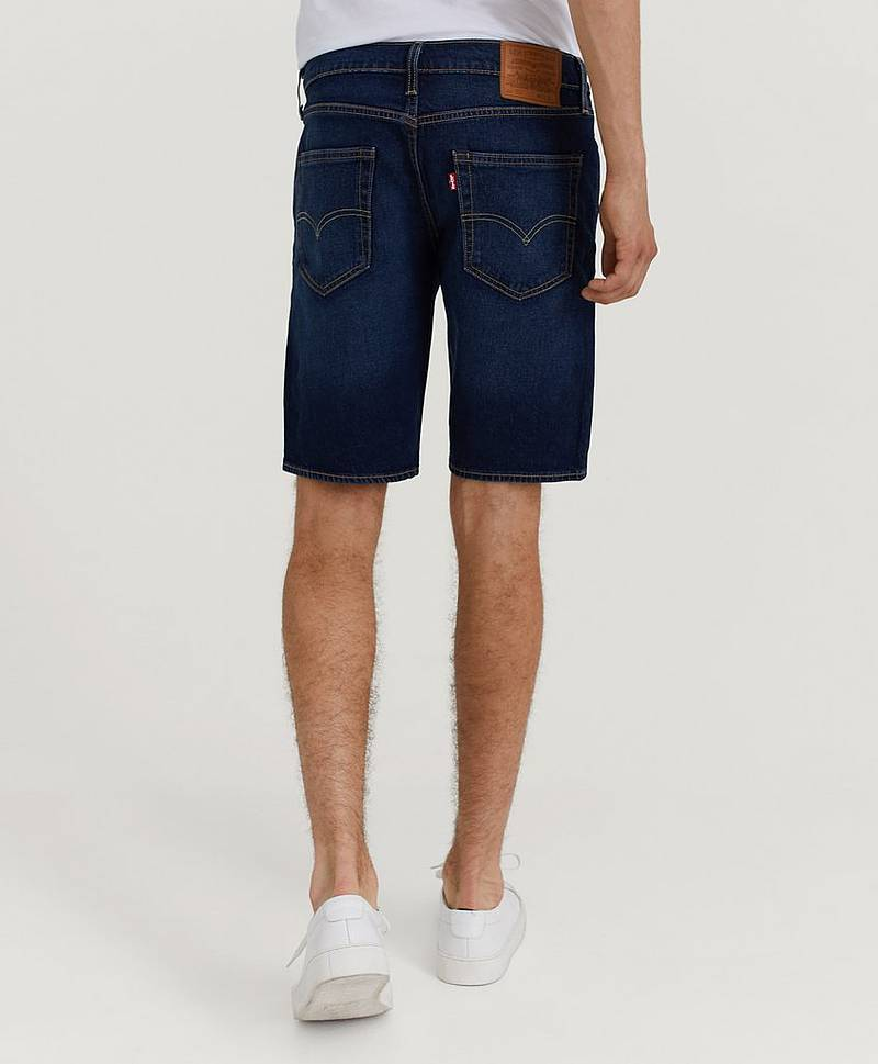 Denimshorts 502 Taper Hemmed Short Cheviot