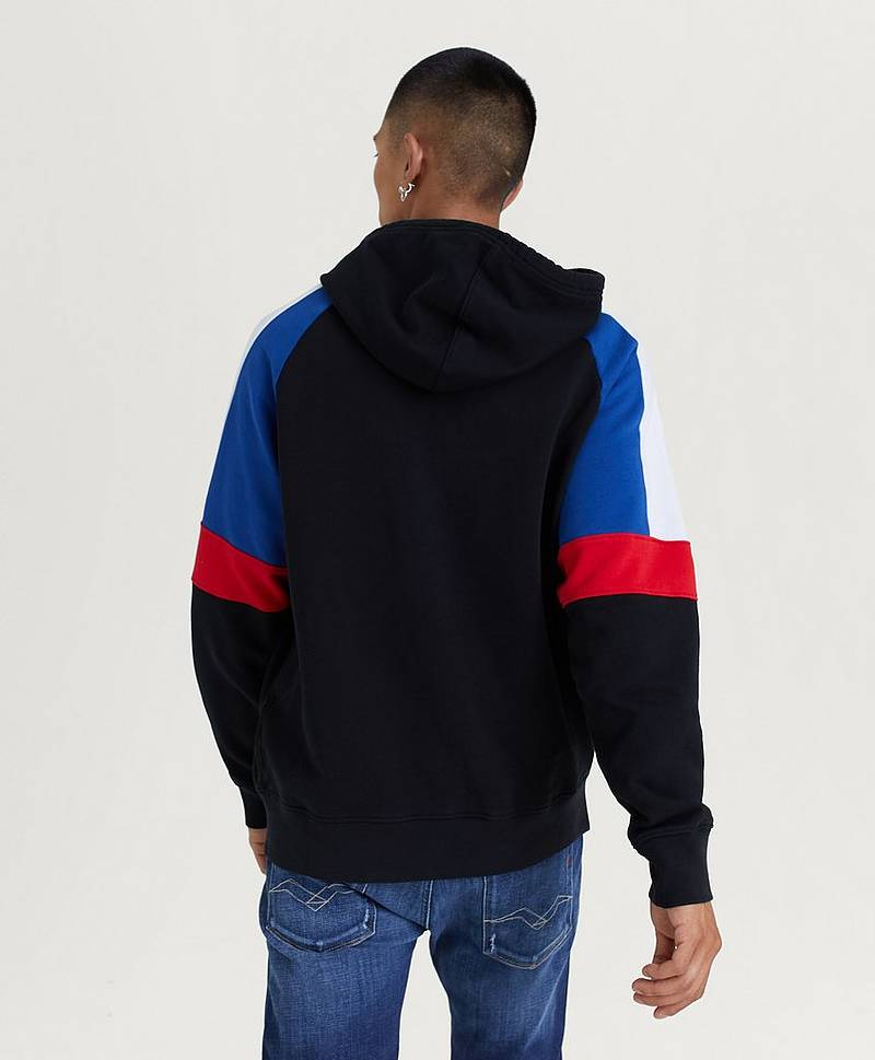 PIECED FULLZIP HOODIE PIECED F