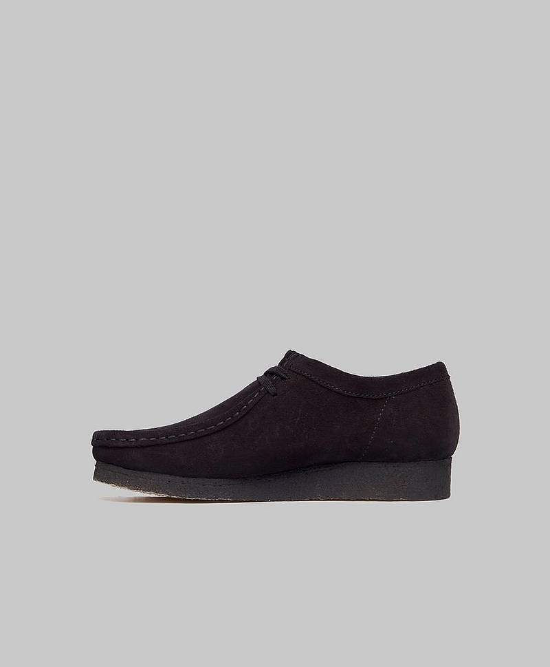 Boots Wallabee Boot Black Suede