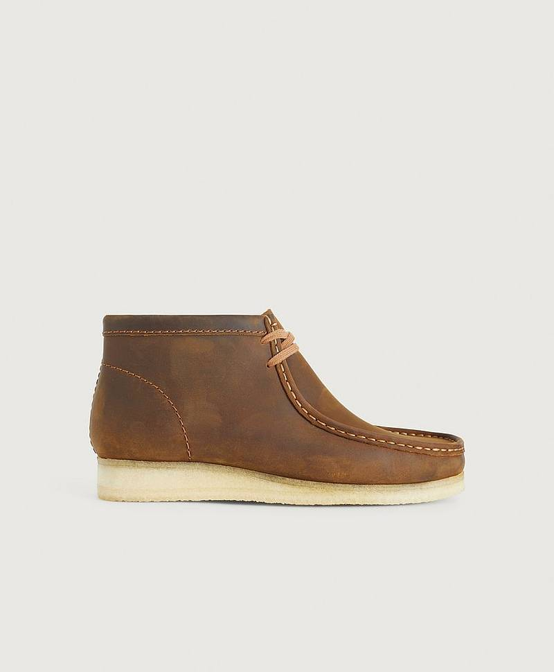 Boots Wallabee Boot Beeswax