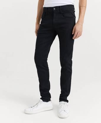 Replay Jeans Anbass Hyperflex Svart