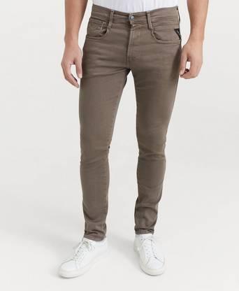 Replay Jeans Anbass Hyperflex Brun