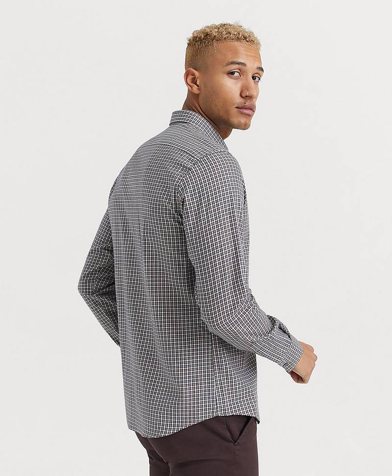 SKJORTE Relaxed Flannel Shirt