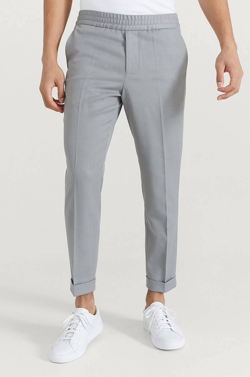 Byxor M. Terry Cropped Trouser