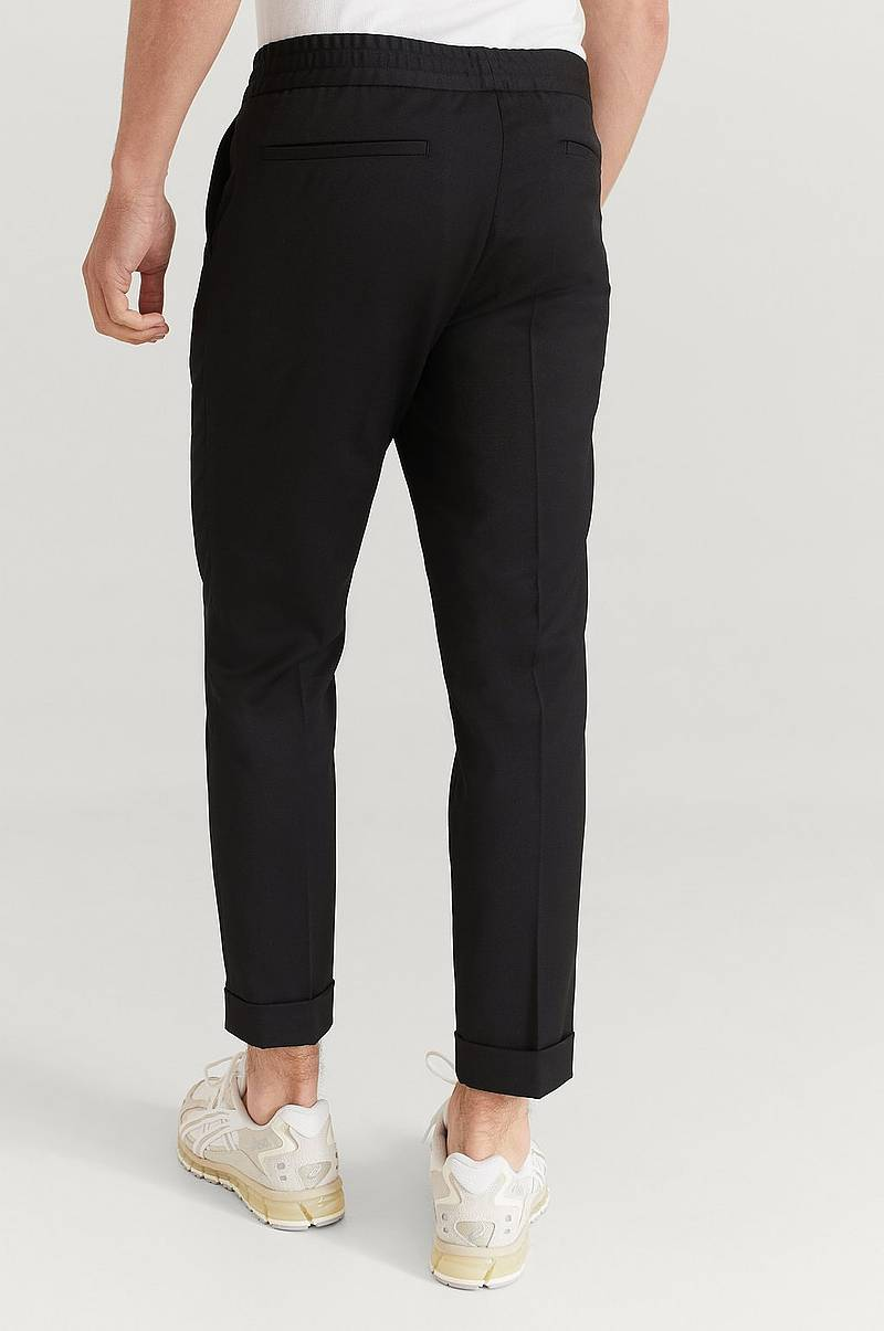 Bukser M. Terry Cropped Trouser