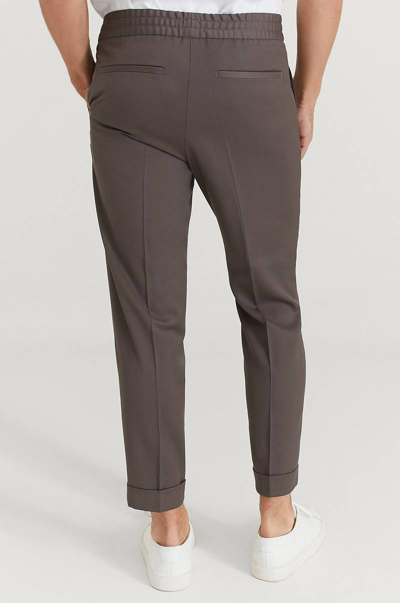 Bukse M. Terry Cropped Trouser