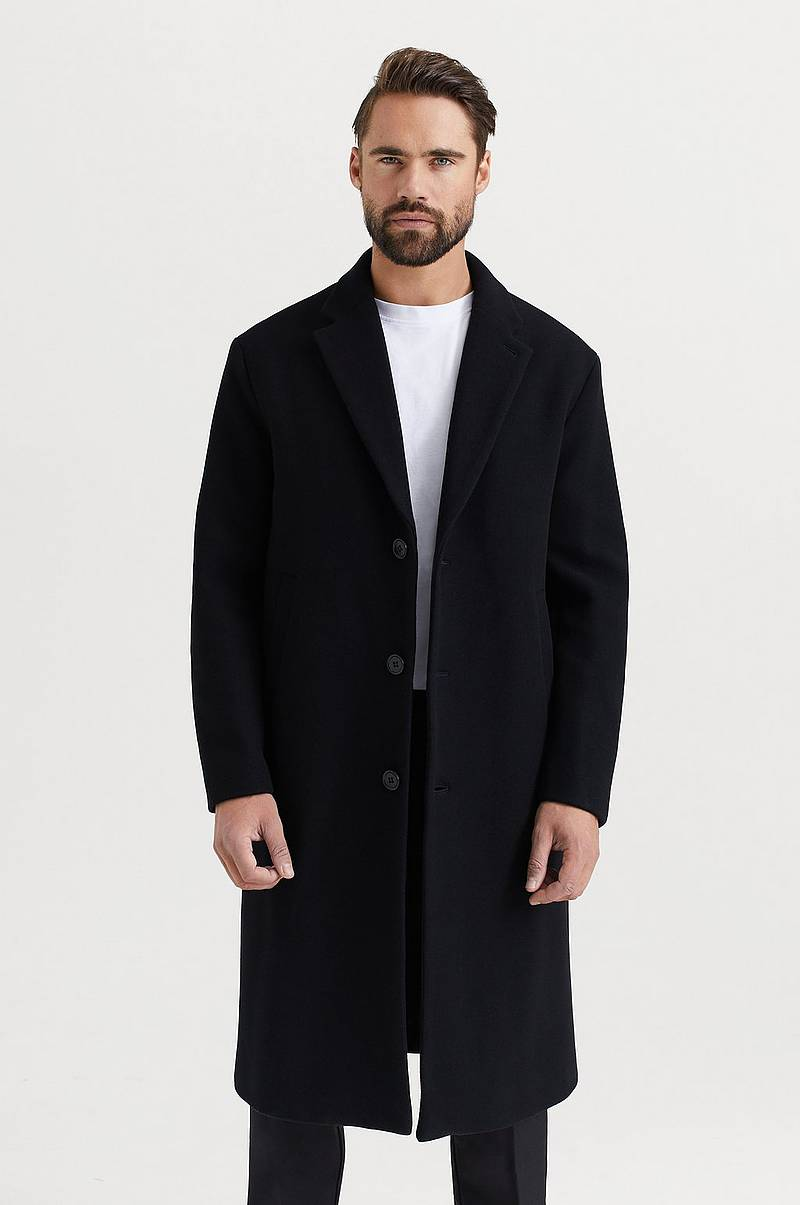 Frakk M. Lyon Wool Coat