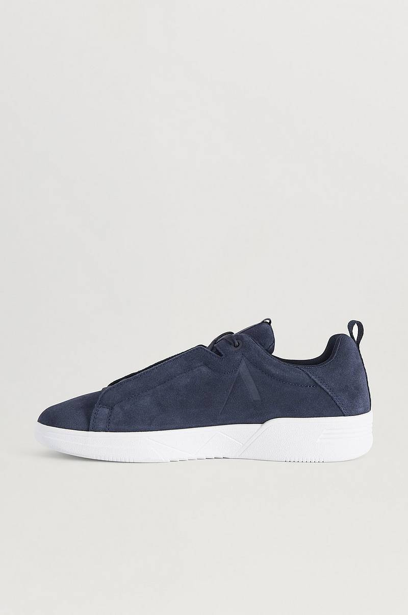 Sneakers Uniklass Suede S-C18 Midnight-M